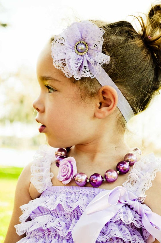 Image of Vintage Lace Headband