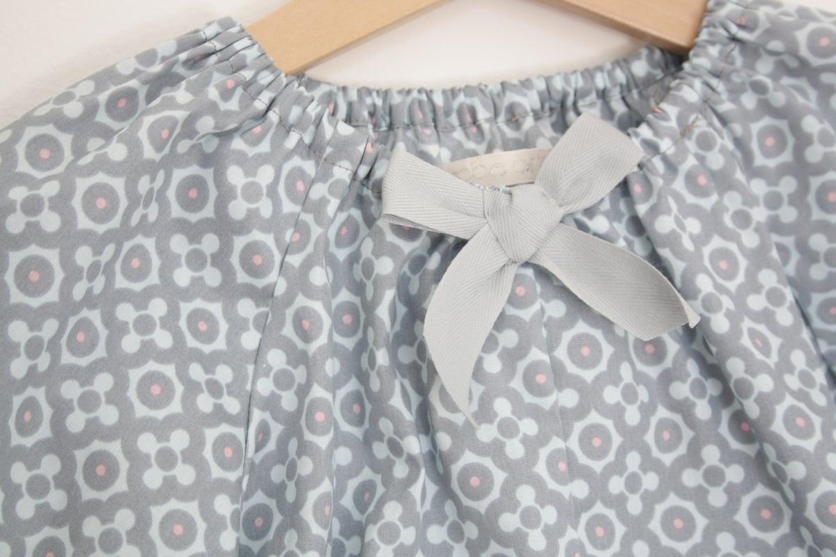 Feline Shirt - blue pattern