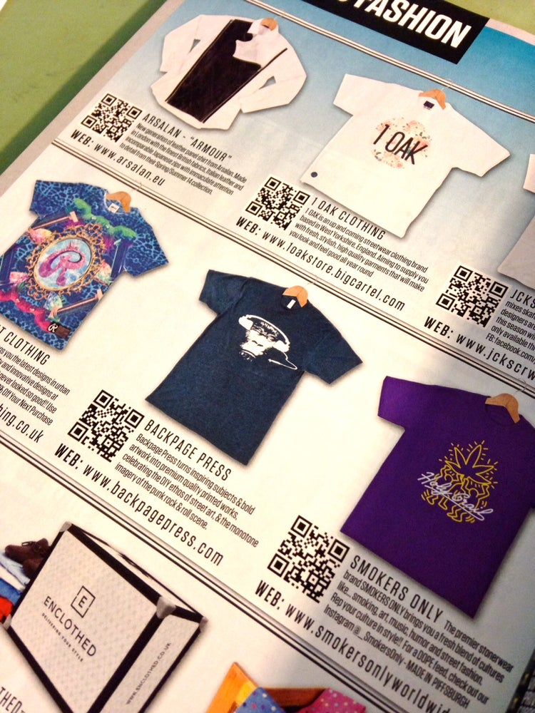 "Image of ""Mongo Noonan"" FHM Magazine Edition tee"