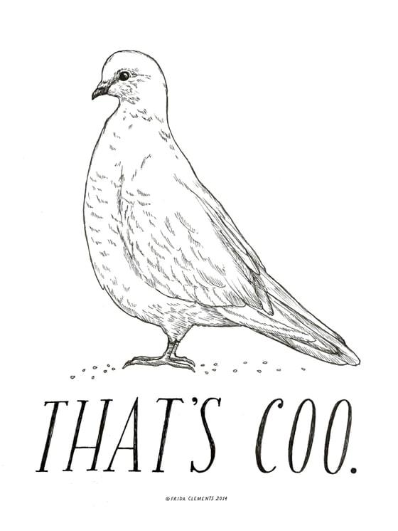 Image of That's Coo / Mini Print