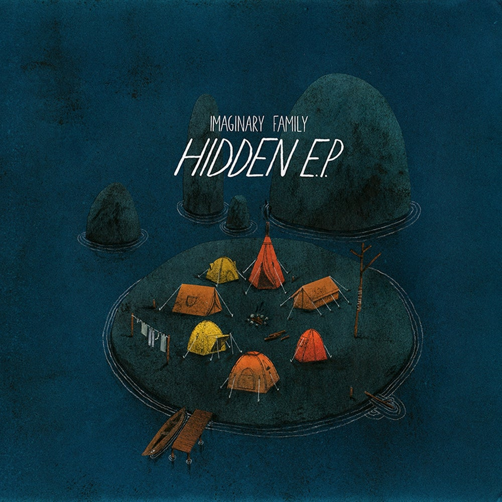 Image of Imaginary Family - Hidden (CD)
