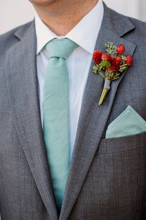 Image of Spearmint Pocket Square