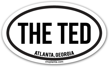Image of The Ted Sticker