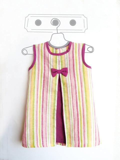 df3df8a94 Image of Vestido niña. Tallas  1 a 9 años. Patrones de costura (