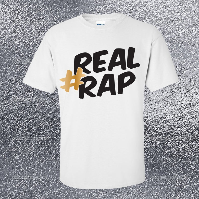Image of Real Rap Mens Tee
