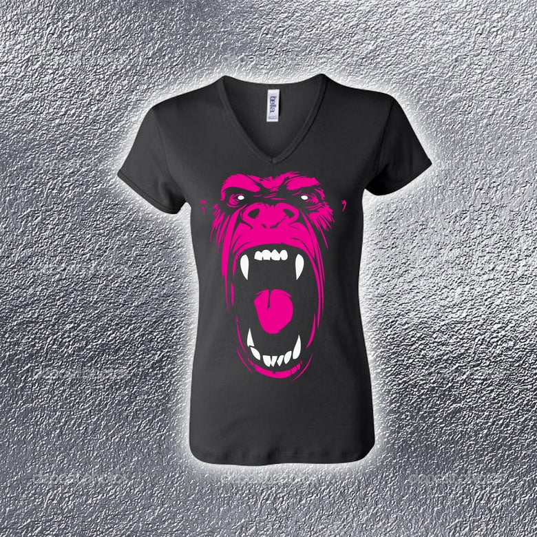 Image of Real Rap Gorilla Ladies Tee