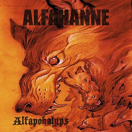 "Image of Alfahanne ""Alfapokalyps"" CD"