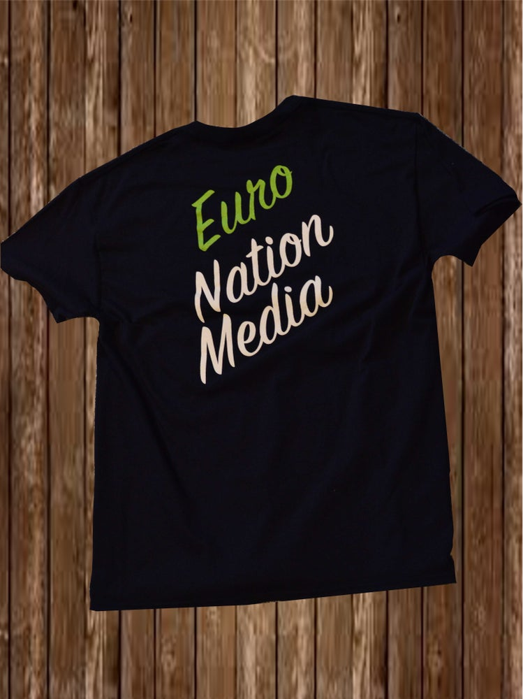 Image of Euro Nation Media Tee