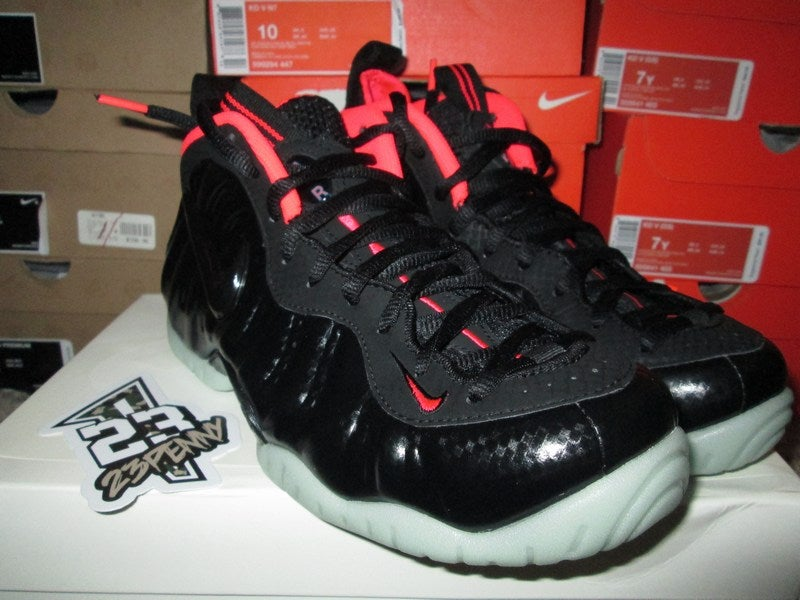 "Image of Air Foamposite Pro Premium ""Laser Crimson"""