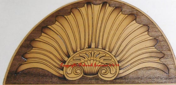 Image of Item No. 71. Semi Circle Shell.