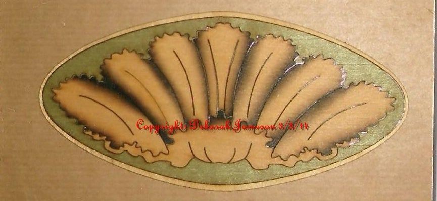 Image of Item No. 76. Oyster Shell Design