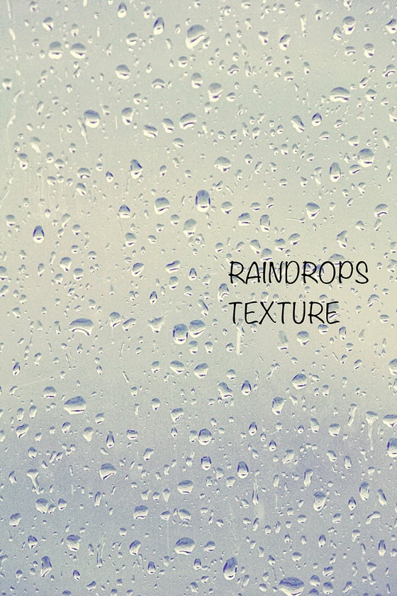 Image of Raindrops Texture