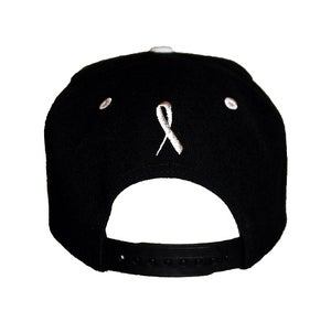 Image of BLACK FUCK CANCER SNAPBACK