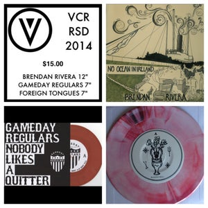Image of VCR Record Store Day 2014 Insane Bundle