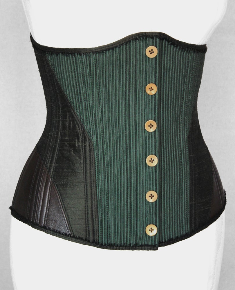 Image of Olive and Coffee Underbust