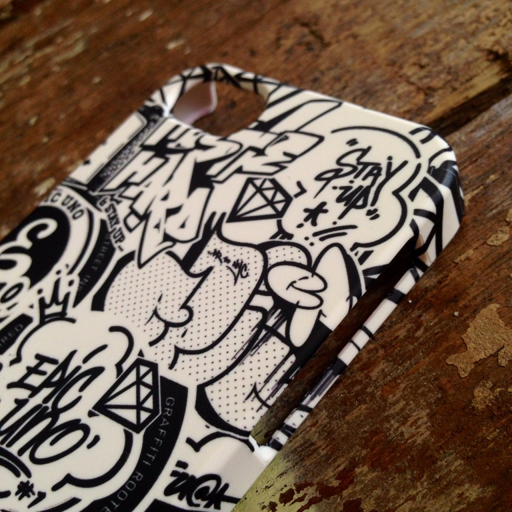Image of EPIC GRAFFITI BOMB PATTERN - iPhone5/5s/5c