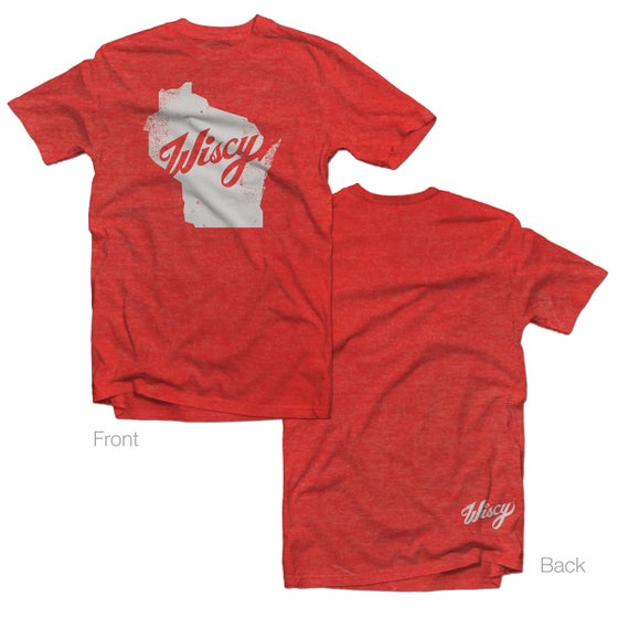 Image of Wiscy Tee in Vintage Red