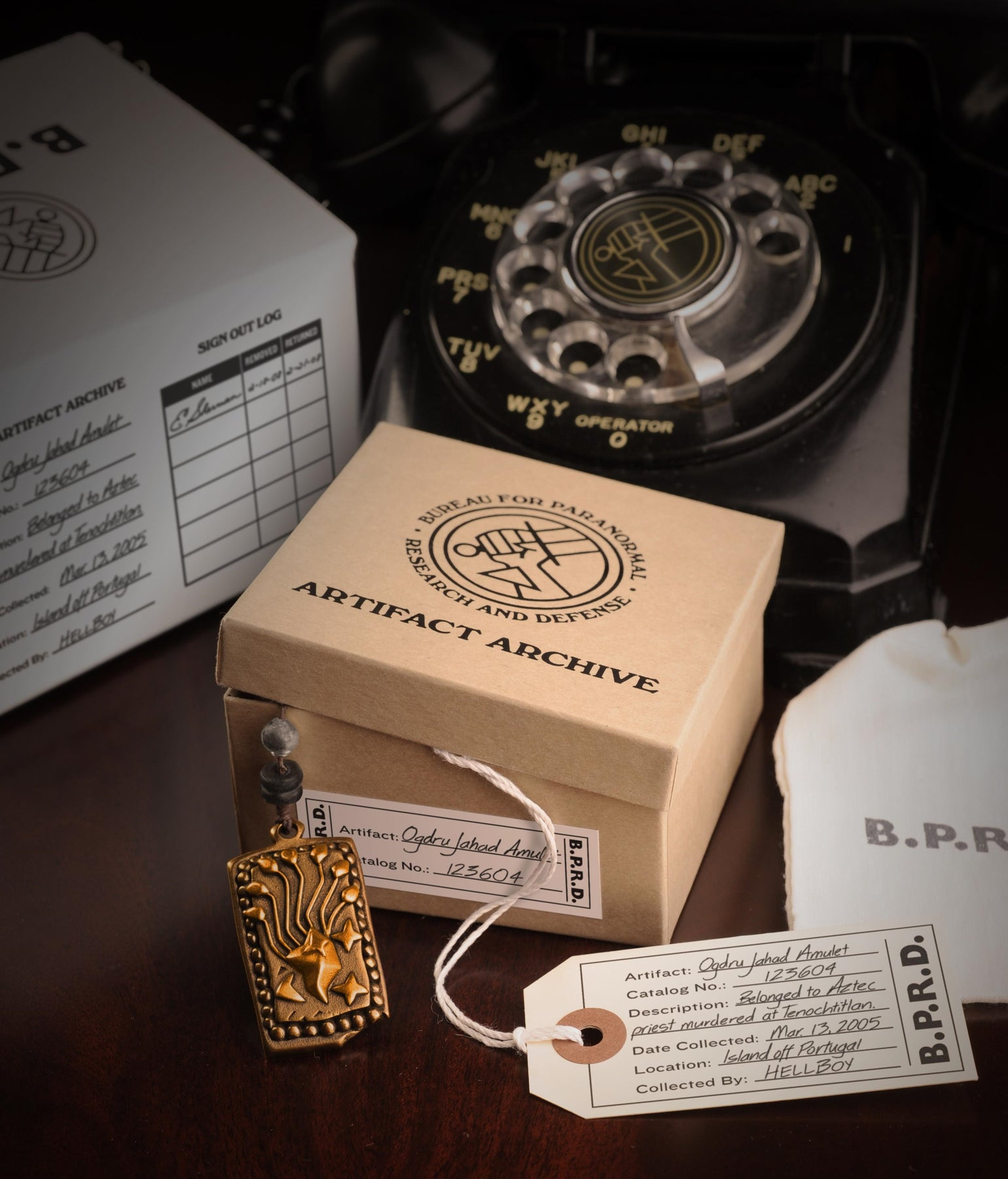 Image of Hellboy/B.P.R.D: Limited Edition Ogdru Jahad Amulet — TEMPORARILY SOLD OUT