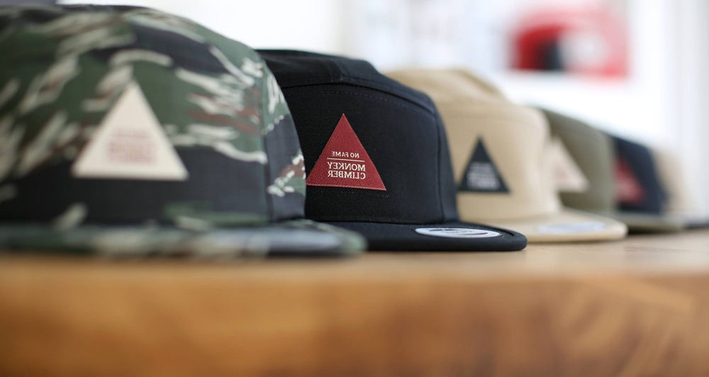 Image of Monkey Climber Classic No Fame 5 Panel Cap
