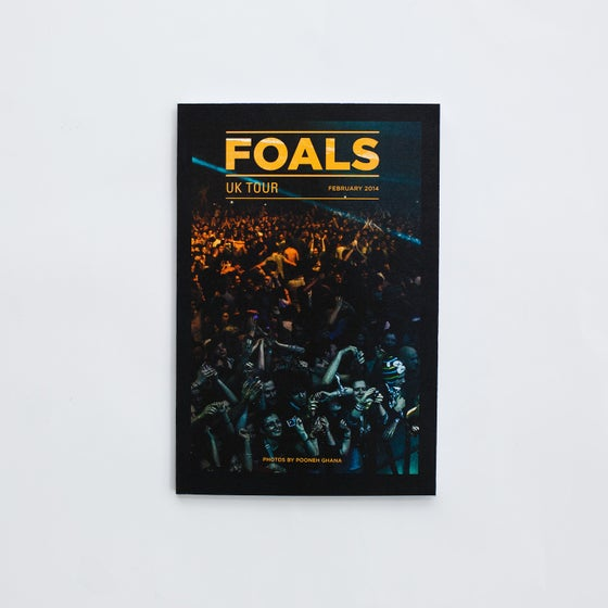 Image of Foals UK Tour 2014 Photo Zine