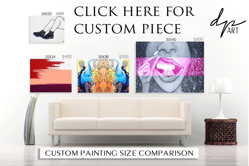 Image of CUSTOM PAINTING beginning at $300