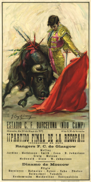 Image of Barcelona 1972 - Bullfighter Poster