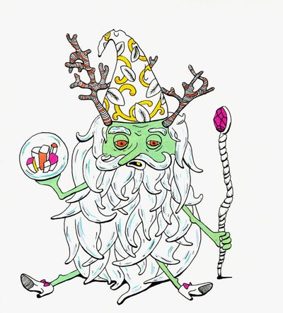 Image of Antler Wizard