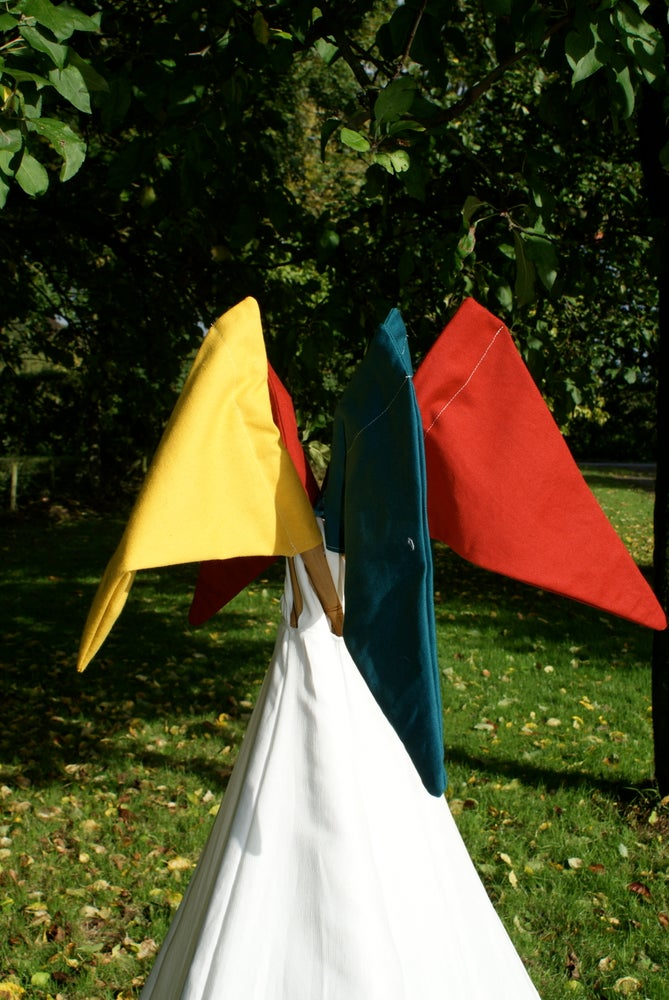 Image of Teepee flags