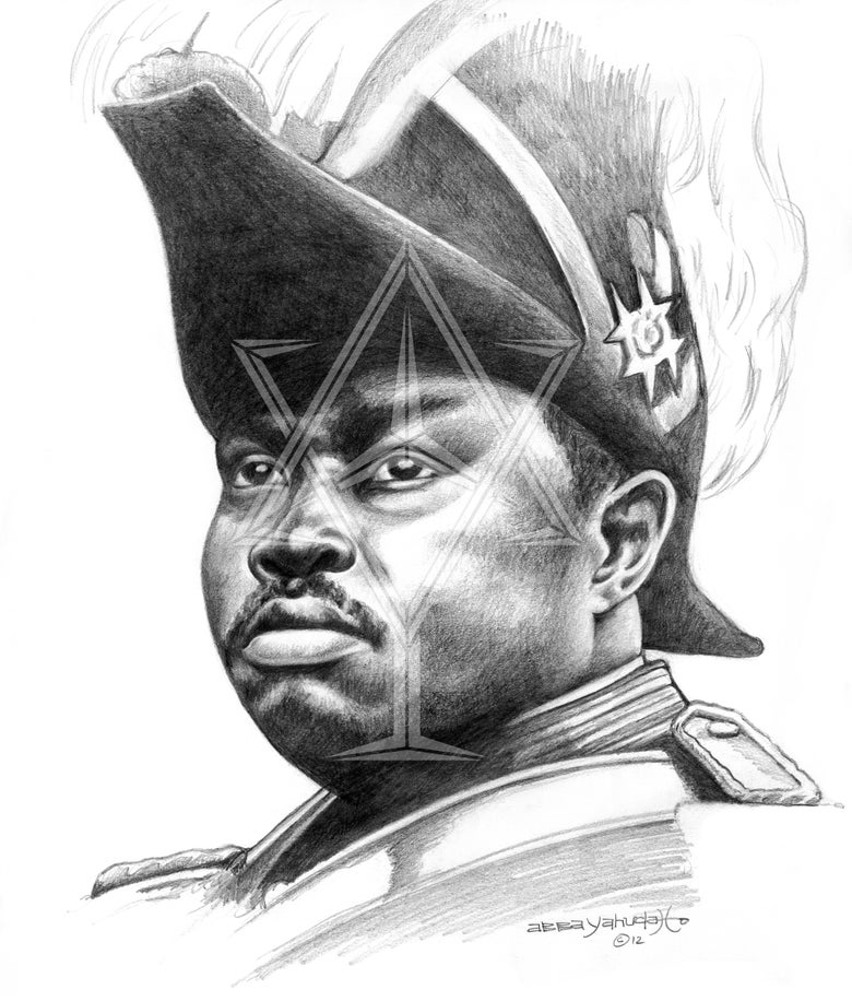 Image of Marcus Garvey ©2012