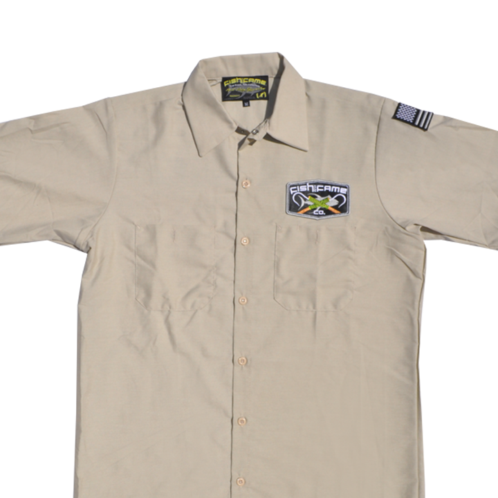 Image of The Originator Gaff® Crew Shirt (khaki)