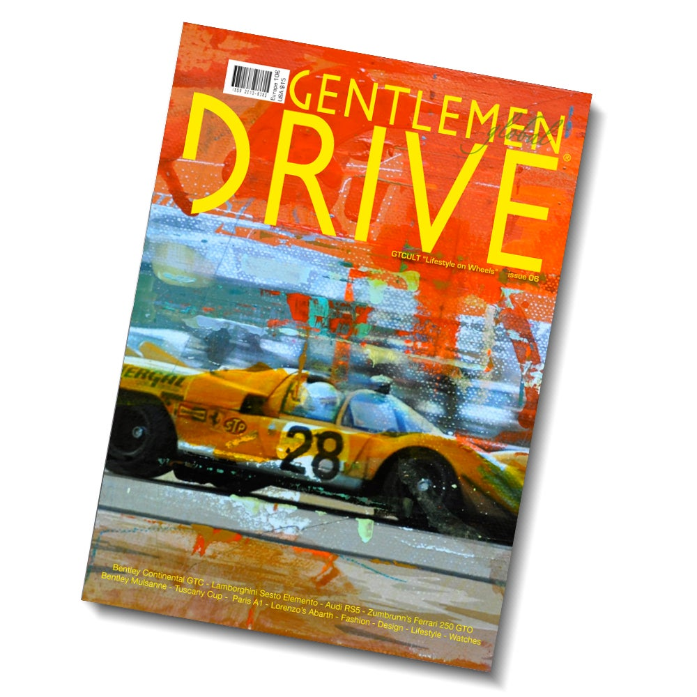 Image of GENTLEMEN DRIVE MAGAZINE ISSUE 06 - ESCUDERIA MONTJUICH SPECIAL