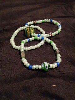 Image of braclets! small bead & other