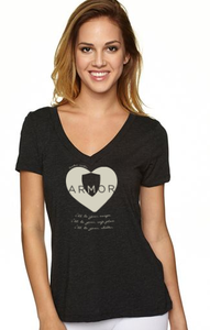 Image of Official Armor T-Shirt (Charcoal Gray)