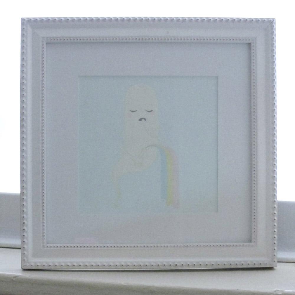 Image of Ooooooo - Framed Original Painting