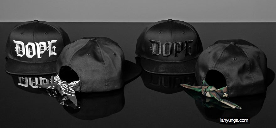 137a8b47 ... order dope couture all back camo bandana snapback limited edition soma  mascal 5b4be 6d0b4