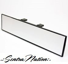 Image of (All Sentras) Wide Angle Rear View Mirror (Universal Fit)