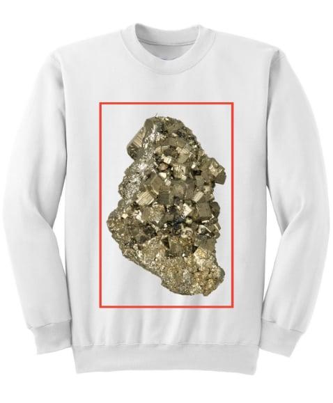 Image of KDMM X GEO Pyrite Cube Sweatshirt