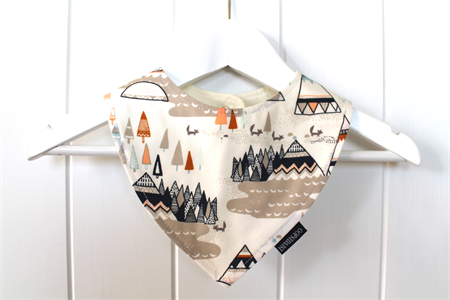 Image of Bandana Bib - Indian TeePee