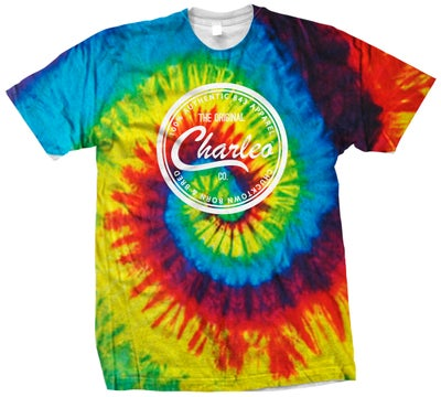 Image of The Original Charleo Seal Tee Psychadelic/White