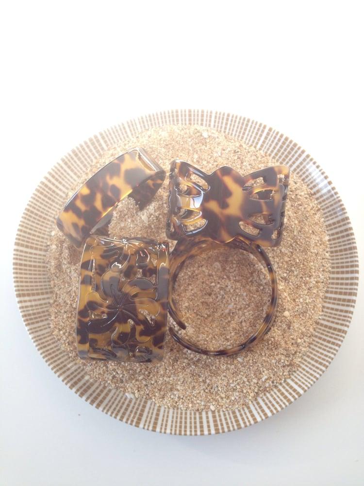 Image of CUFF :: Hawaiian Tiare Tortoise Shell