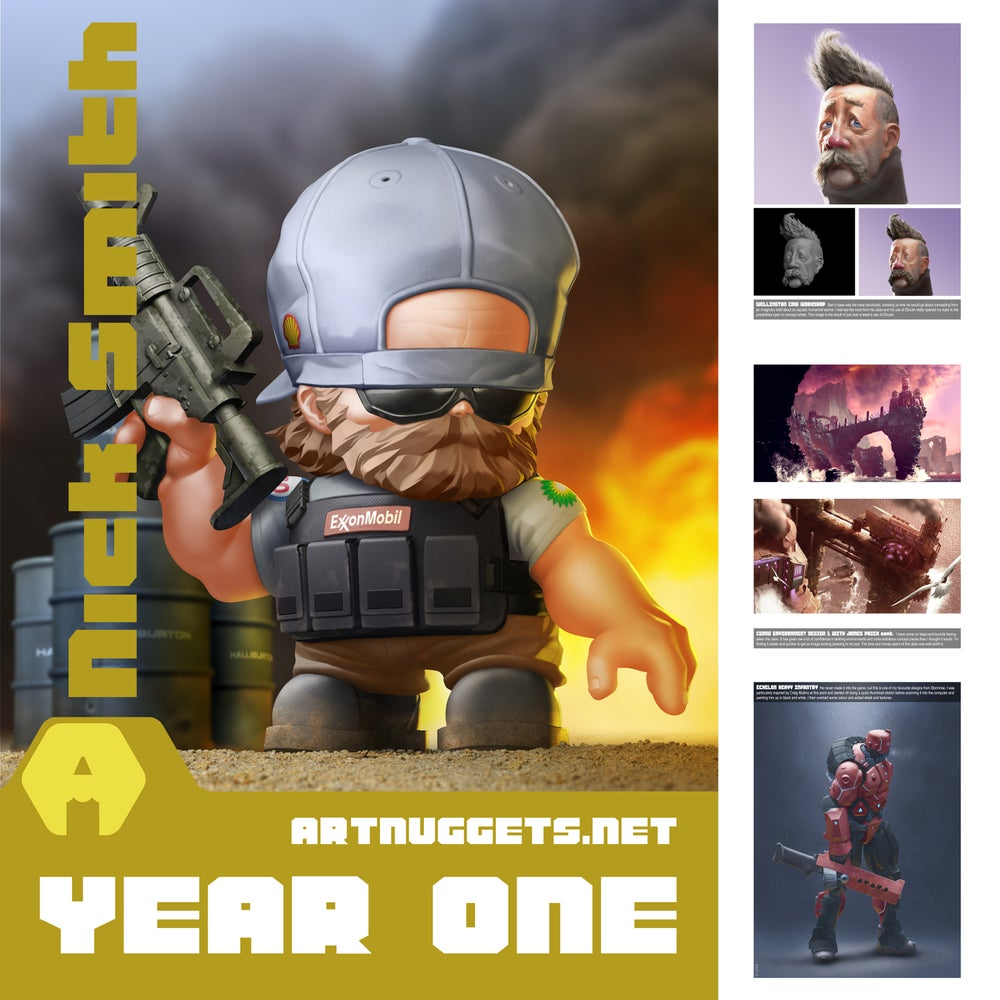 Image of Art Nuggets - Year One