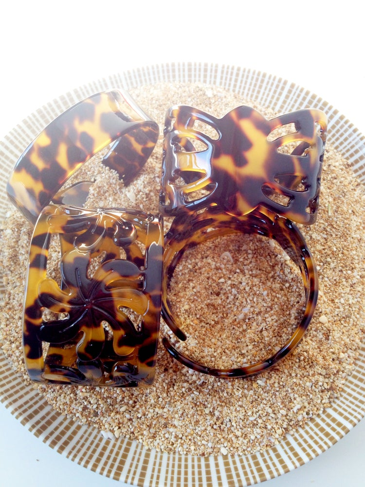 Image of CUFF: Hawaiian Aloha Tortoise Shell