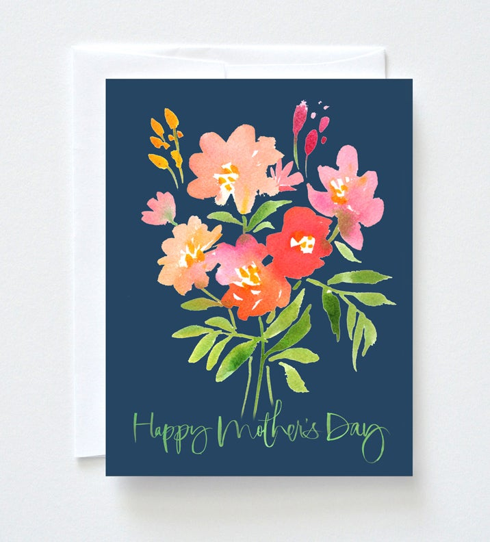 Image of Cheery Bouquet Mother's Day Card