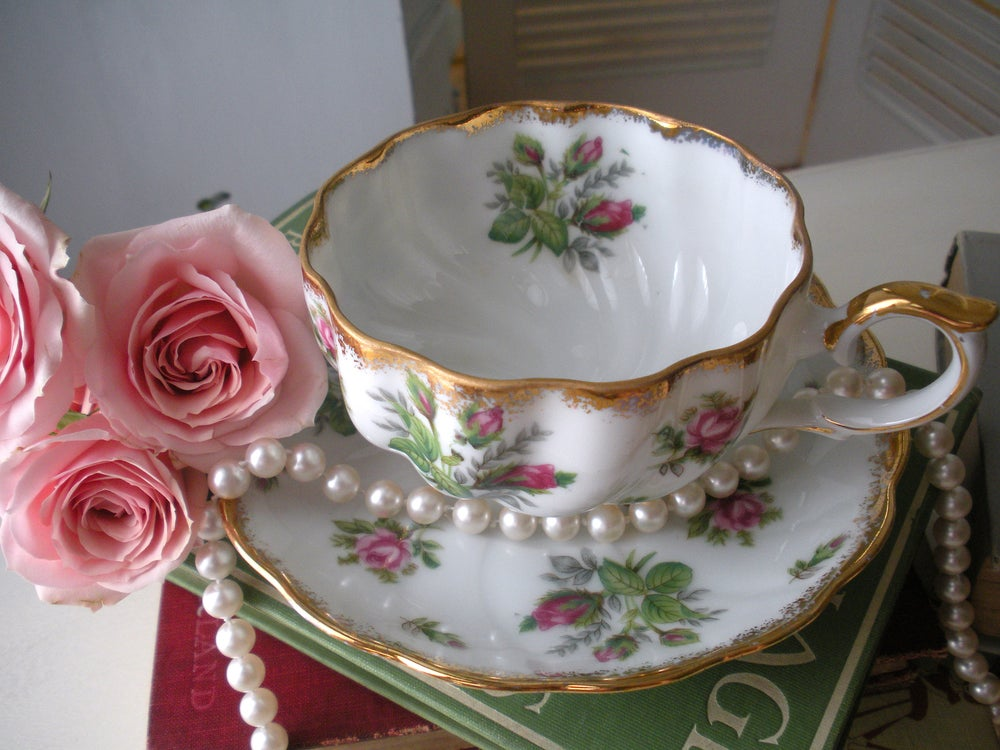 Image of Rose Tea Cup and Saucer