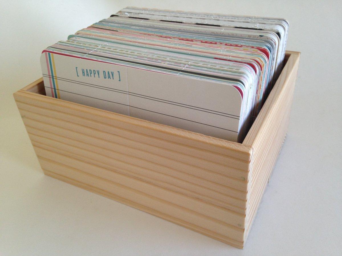 4x6 Storage Box All Ready Memories