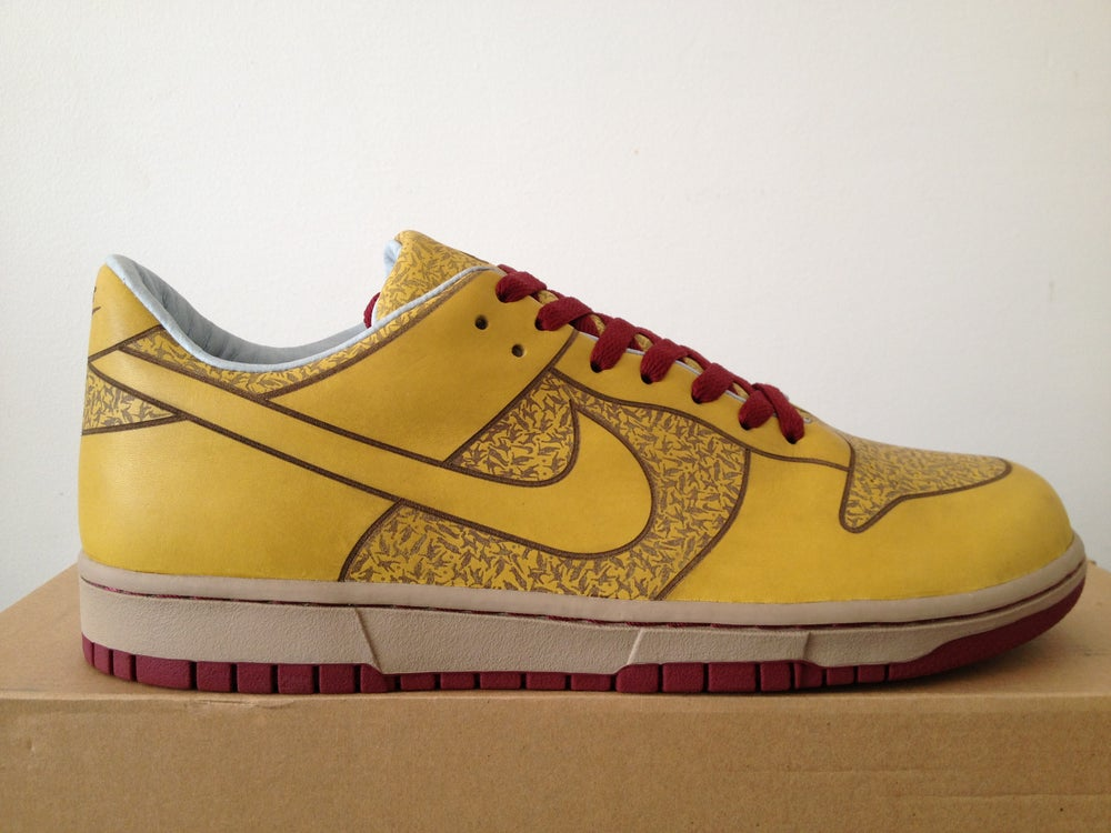 super populaire 455d8 04893 Nike Dunk Low One Piece Topaze 2003