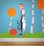 Image of Cat in the Hat - Dr Seuss Character