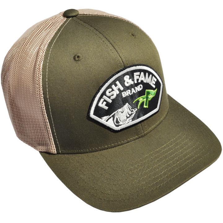 Image of Lure Patch Buck Bill Trucker (assorted)