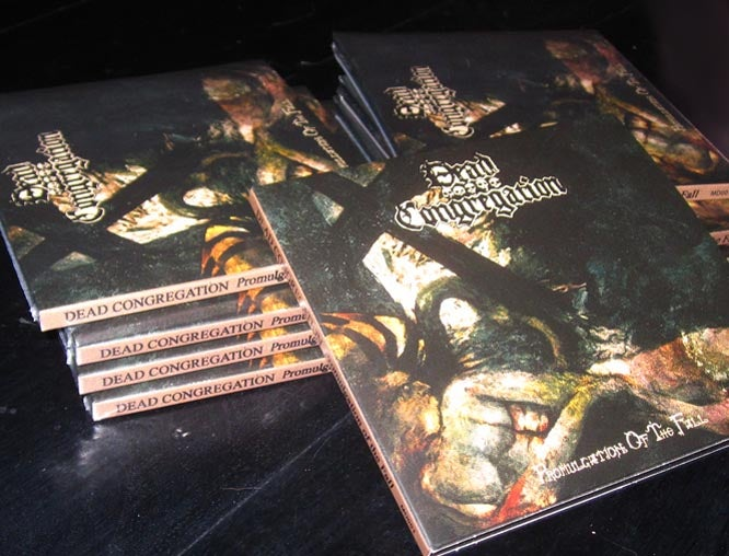 Image of DEAD CONGREGATION - Promulgation of the Fall CD (DIGIPACK or Jewel Case)