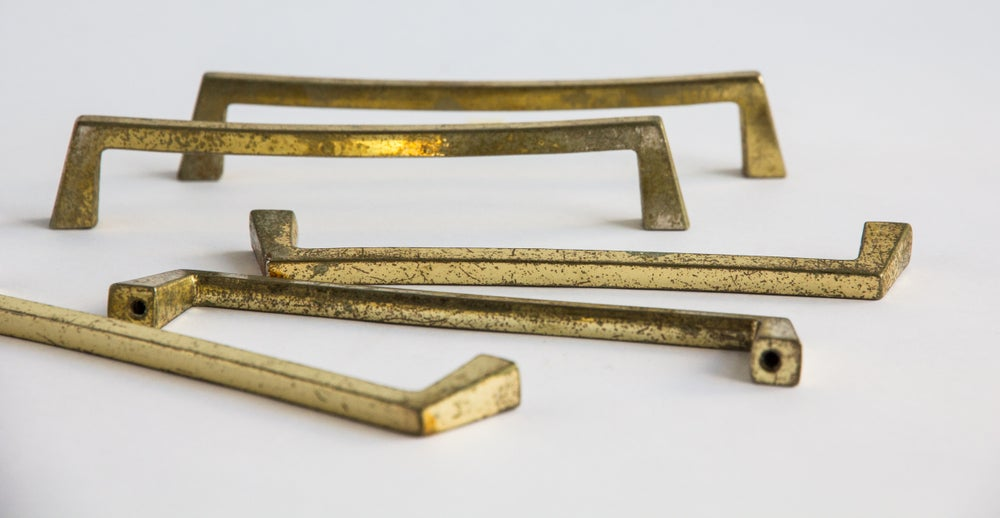 Image of Brass Furniture Handles - Large